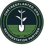 Round One Tree Planted site logo with one seedling icon at the center.